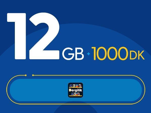 Rahat Plus 12GB Paketi - Tekrarsız