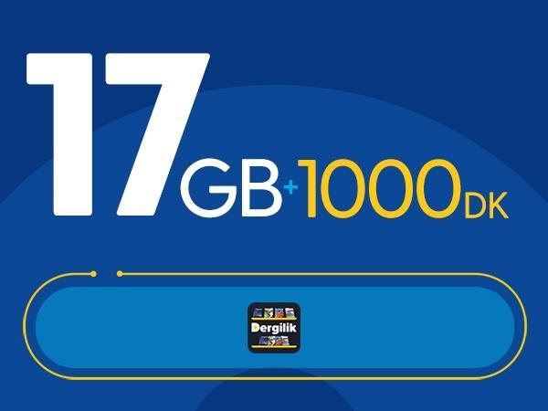 Rahat Plus 17GB Paketi - Tekrarsız