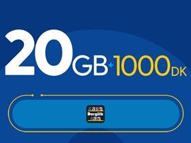 Rahat Plus 20GB Paketi - Tekrarsız