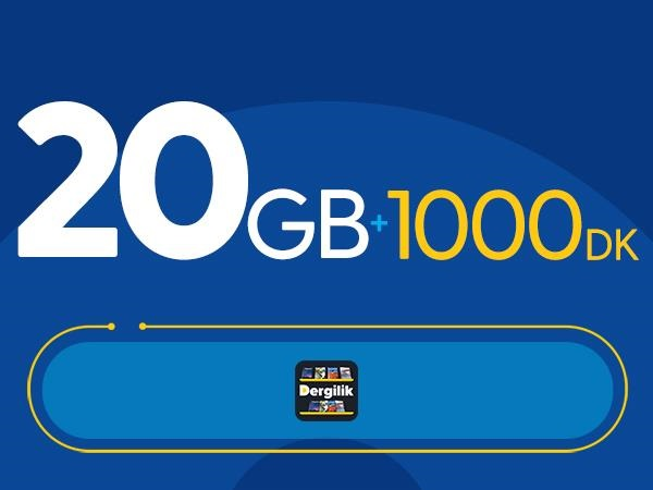 Rahat Plus 20GB Paketi