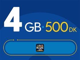 Rahat Plus 4GB Paketi - Tekrarsız