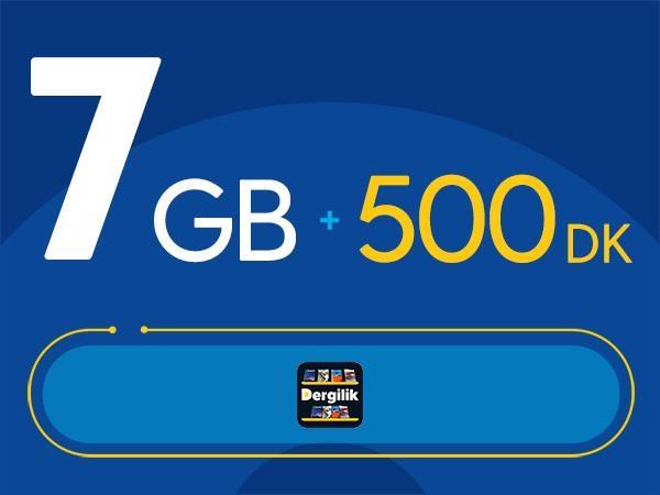 Rahat Plus 7GB Paketi - Tekrarsız