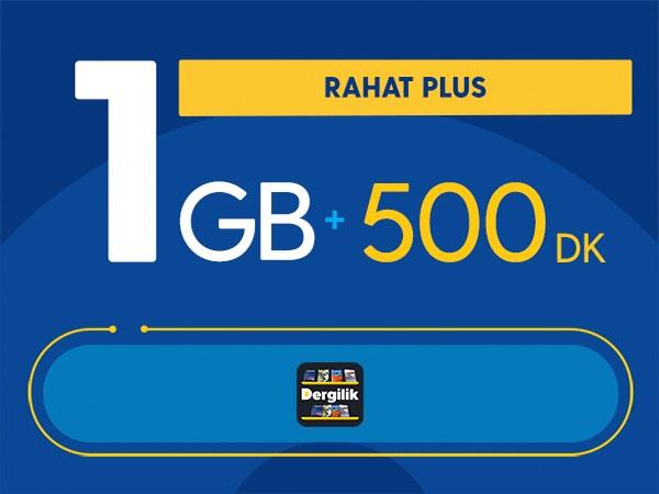 Rahat Plus 1GB Paketi - Tekrarsız