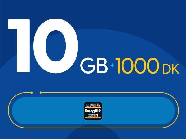 Rahat Fırsat 10GB Paketi - Tekrarsız