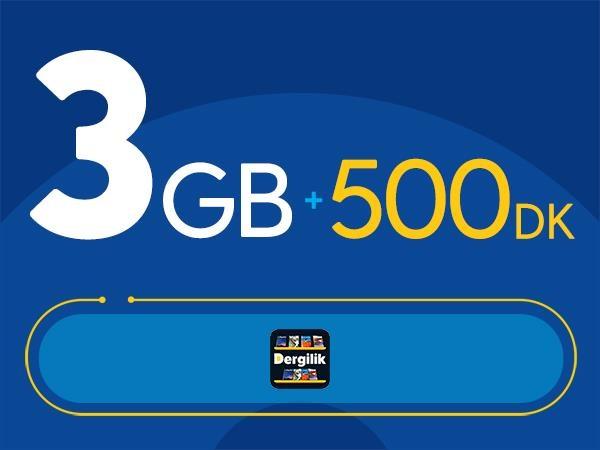 Rahat Fırsat 3GB Paketi - Tekrarsız