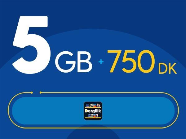 Rahat Fırsat 5GB Paketi - Tekrarsız