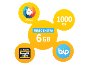 Satın Al Turbo Ekstra 6 GB