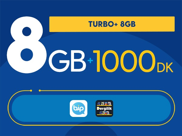 Turbo+ 8GB