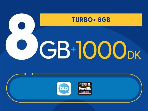 Turbo+ 8GB