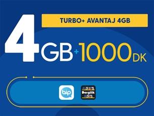 Satın Al Turbo+ Avantaj 4GB