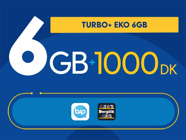 Turbo+ Eko 6GB