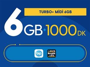 Satın Al Turbo+ Midi 6GB