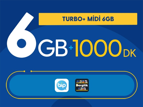 Turbo+ Midi 6GB