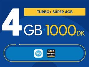 Satın Al Turbo+ Süper 4GB