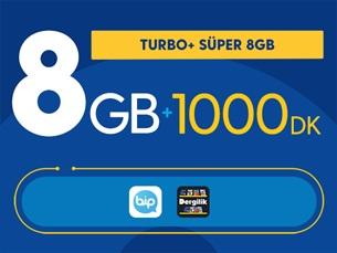 Satın Al Turbo+ Süper 8GB