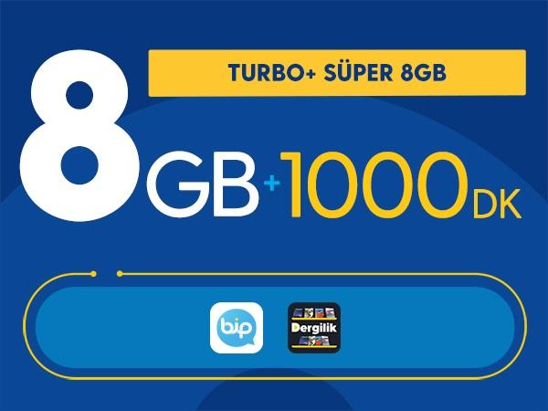 Turbo+ Süper 8GB