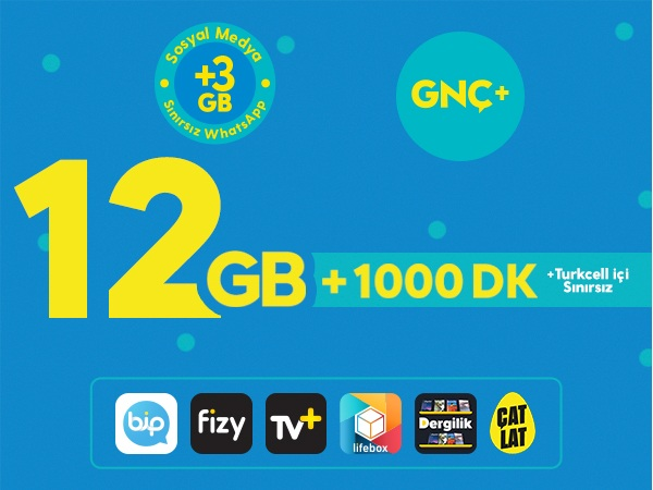 GNÇ+ 12GB