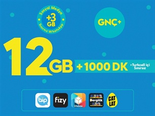 Satın Al GNÇ+ 12GB