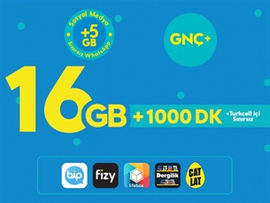 Satın Al GNÇ+ 16GB