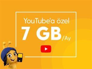 Satın Al Youtube 7 GB Paketi