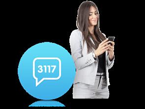 3117 İnteraktif SMS Servisi