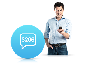 3206 İnteraktif SMS Servisi