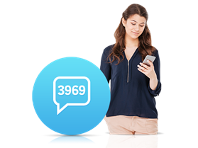 3969 İnteraktif SMS Servisi