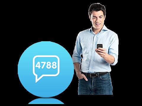 4788 İnteraktif SMS Servisi