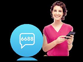 6688 İnteraktif SMS Servisi