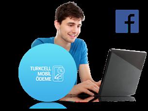 Facebook'ta Turkcell Mobil Ödeme