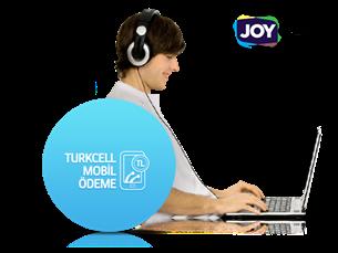 Joygame'de Turkcell Mobil Ödeme