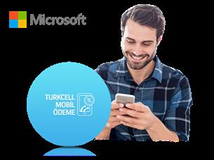 Microsoft Store'da Paycell Mobil Ödeme