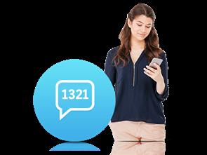 1321 İnteraktif SMS Servisi