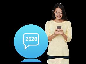 2620 İnteraktif SMS Servisi