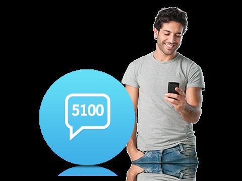 5100 İnteraktif SMS Servisi