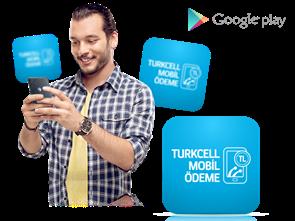 Google Play'de Paycell Mobil Ödeme