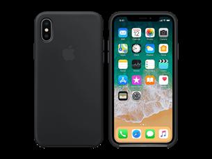 Apple iPhone X Silikon Kılıf Siyah