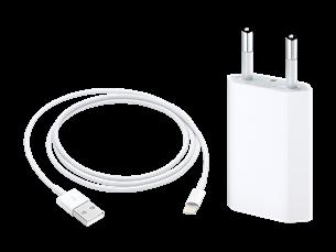 Apple Lightning USB Şarj Kablosu + Apple USB Güç Adaptörü