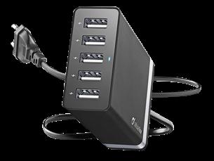 Cellular Line 5 USB Portlu Seyahat Şarjı