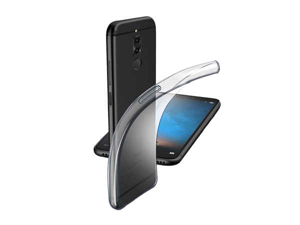 Cellularline Huawei Mate 10 Lite Parlak Kauçuk Koruyucu Kılıf