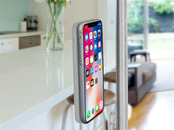 Cellular Line iPhone X Cama Yapışan Şeffaf Kılıf