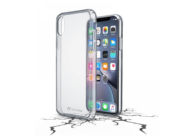 Cellularline iPhone XR Şeffaf Sert Koruyucu Kılıf