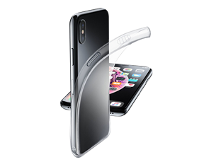 Cellularline iPhone Xs Max Parlak Kauçuk Koruyucu Kılıf