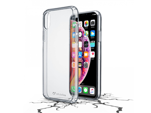 Cellularline iPhone XS Max Şeffaf Sert Koruyucu Kılıf