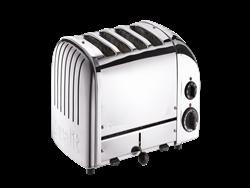 Dualit 47030 Classic 4 Hazneli Çelik Ekmek Kızartma