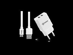 Ktools Life Çift USB Girişli Micro USB Seyahat Cihazı
