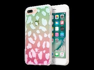 Laut Ombre iPhone 7 Plus/8 Plus Desenli Koruyucu Kılıf Şeffaf