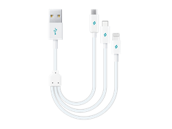 Ttec 2DK13 Minicable Üçü Bir Arada Şarj Kablosu