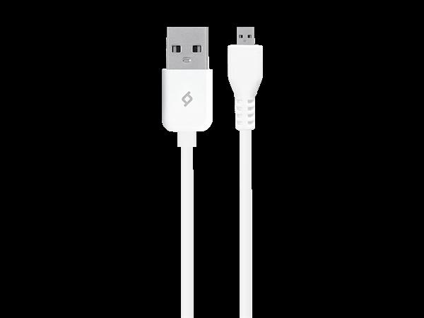 ttec Micro USB Data ve Şarj Kablosu Beyaz