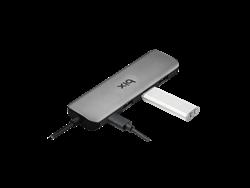 Bix BX08HB Altısı Bir Arada USB Type-C Multiport Çoklayıcı